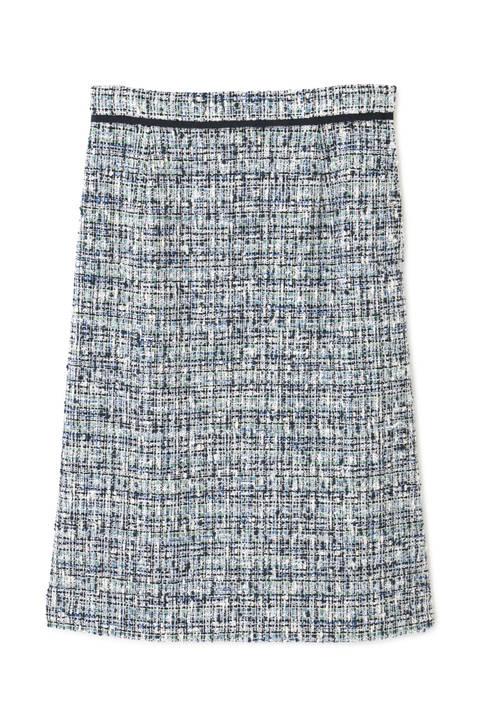 ツィードAラインスカート