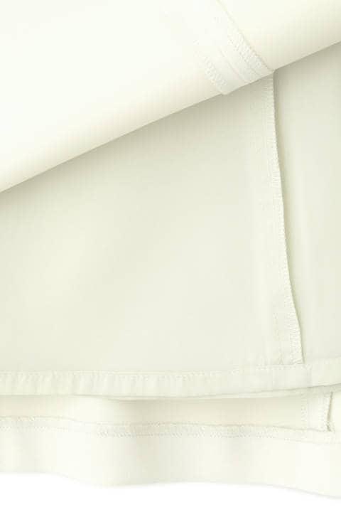 [ウォッシャブル]アイリーニストレッチセミフレアスカート
