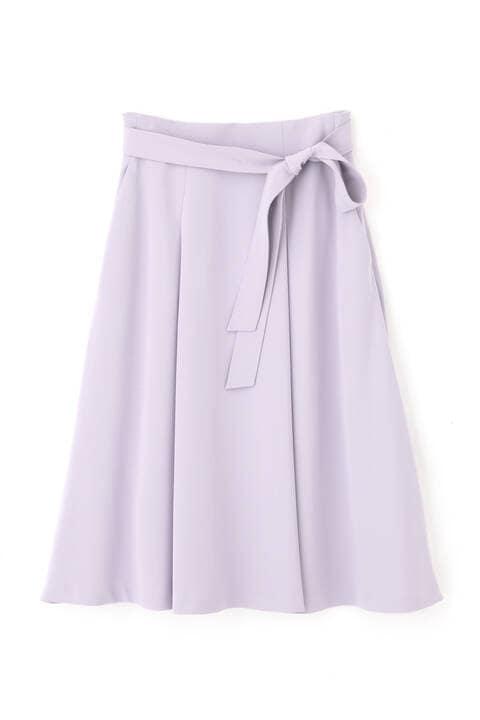 [ウォッシャブル]ハイマルチツイルタックフレアースカート