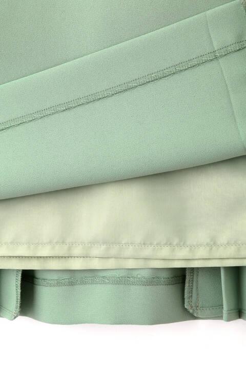 ソフトジョーゼットプリーツスカート