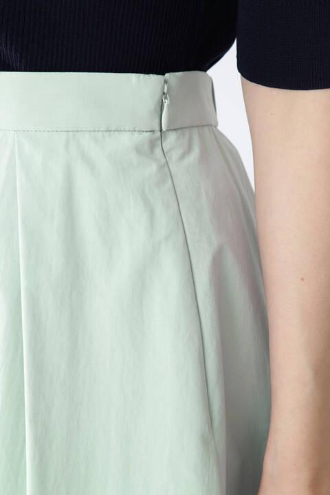 【先行予約 3月上旬-中旬入荷予定】クリアタフタイレギュラーヘムスカート