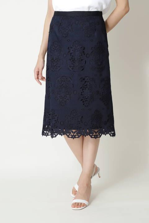 キカフラワーレーススカート