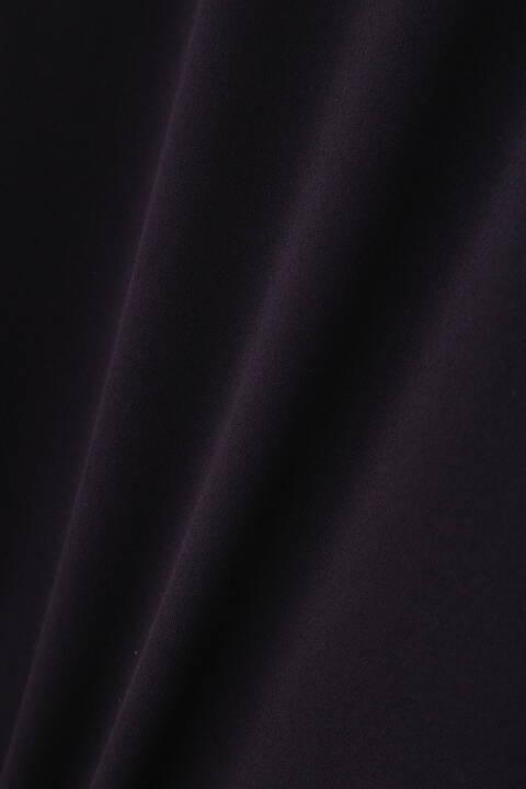 [ウォッシャブル]トリアセドライスムースセミワイドパンツ