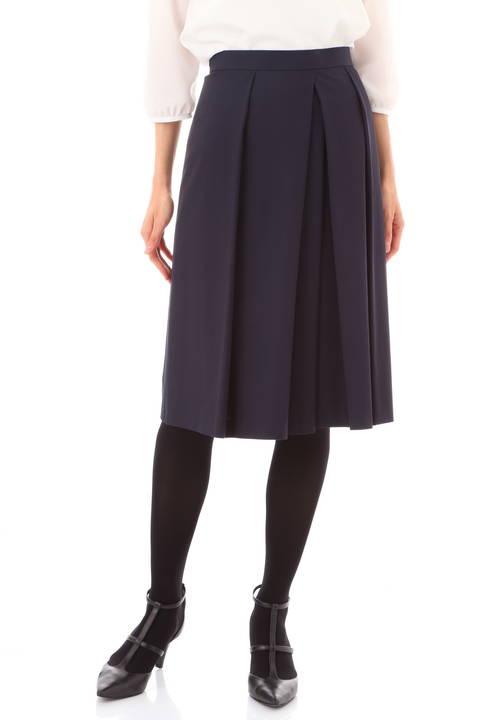 【黒木瞳さん、新井恵理那さん着用】100d強撚スカート
