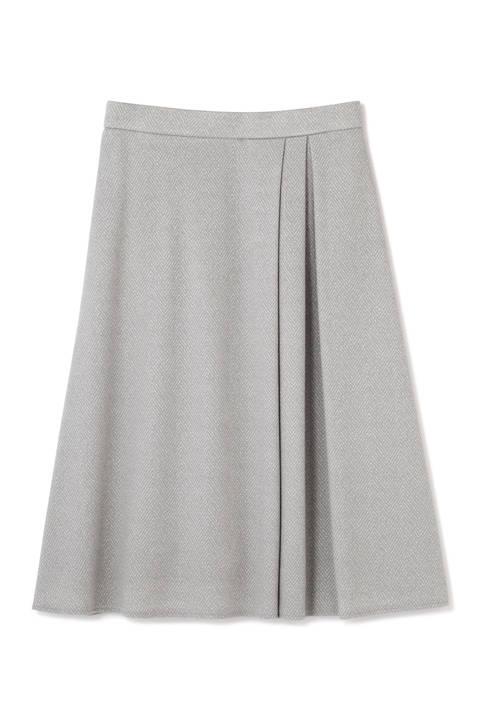 【新井恵理那さん着用】へリンボンジャガードスカート