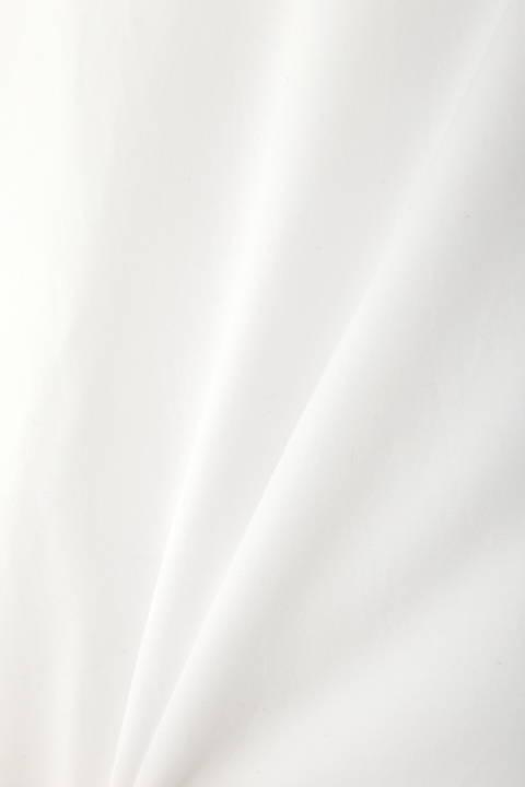 [ウォッシャブル]《Purpose》フィブリルブロードシャツブラウス