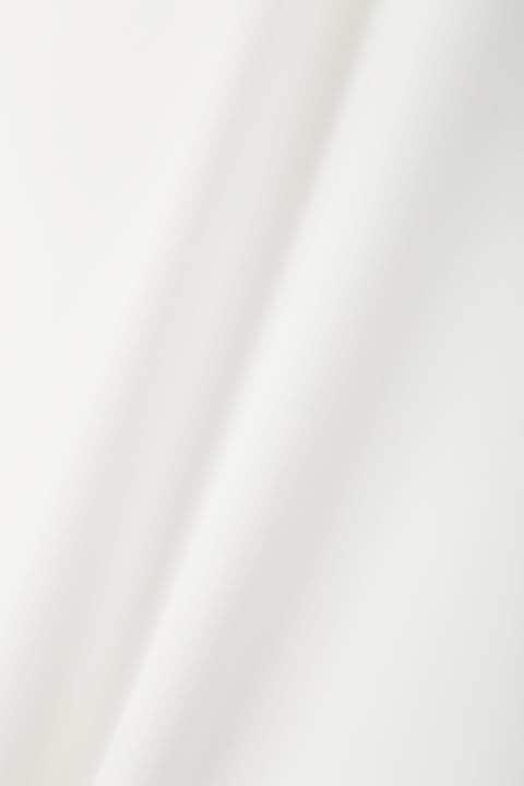 【竹内由恵さん着用】[ウォッシャブル]エステルダブルクロスブラウス
