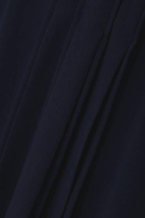 【竹内由恵さん着用】[ウォッシャブル]コットンライクジャージーブラウス