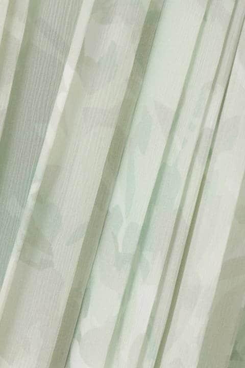 グラフィカルプリントスカート
