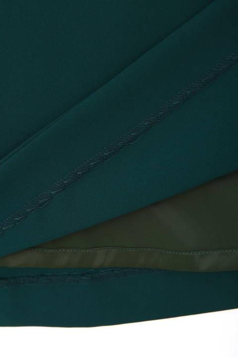 【竹内由恵さん着用】[ウォッシャブル]強撚バイオツイルスカート