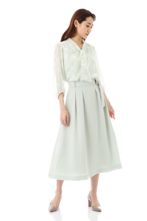 [ウォッシャブル]ノルディスドライダブルクロススカート