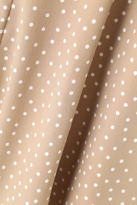 [ウォッシャブル]ランダムドットスカート