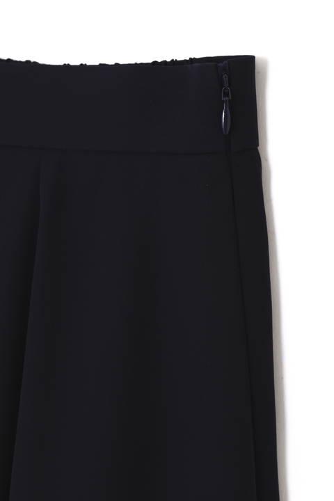 [ウォッシャブル]ノルディス綾二重スカート