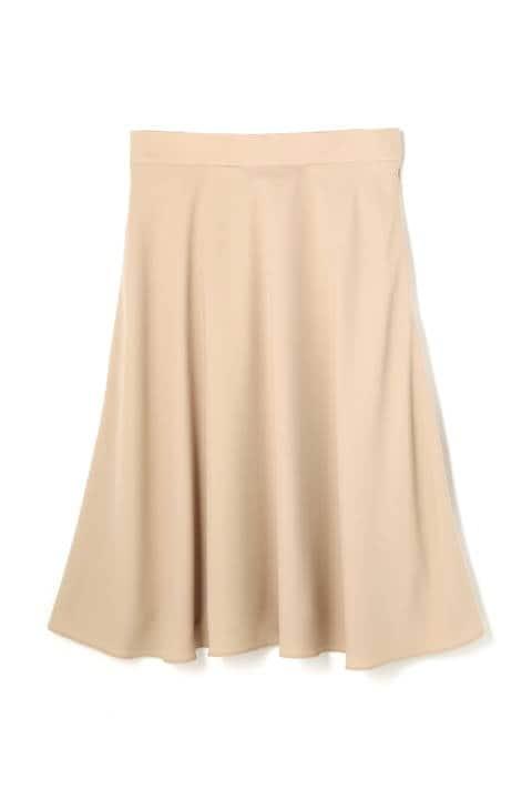 ヌーディバックサテンスカート