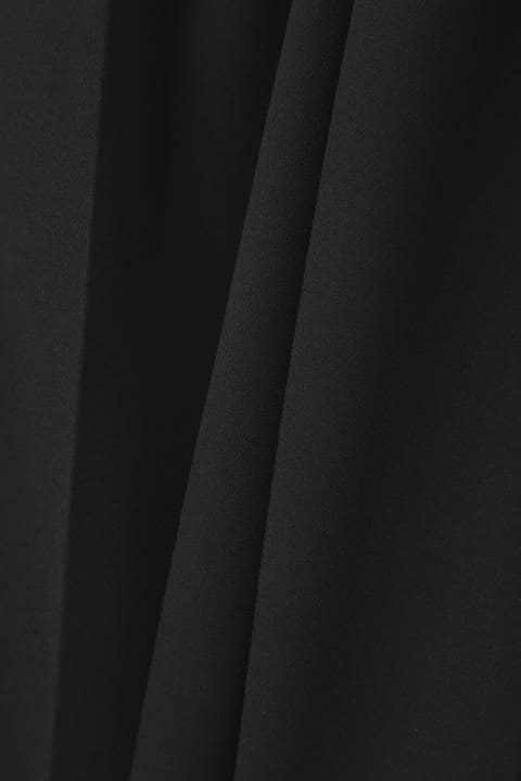 [ウォッシャブル]エステル二重パンツ
