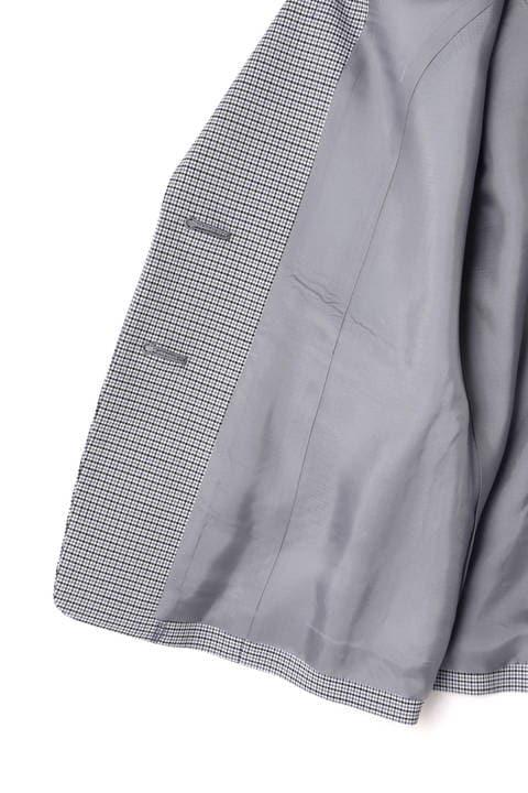 グレンチェックジャケット
