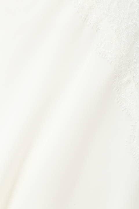 【アナウンサー 竹内由恵さん着用】肩レースボリューム袖ドルマンブラウス