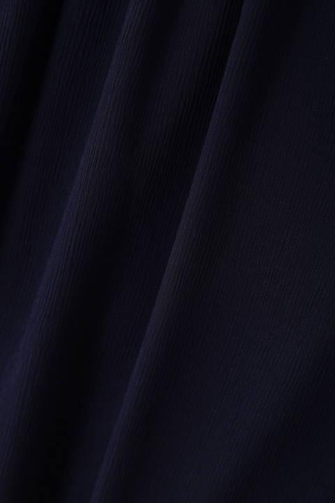 [ウォッシャブル]エスパンディ楊柳ブラウス