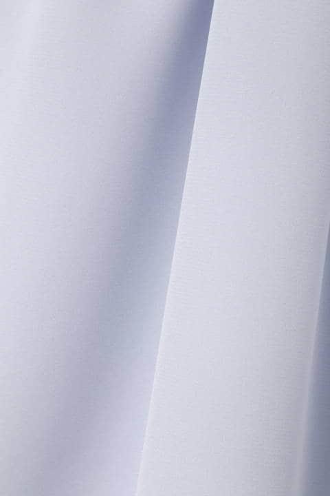 【竹内由恵さん着用】[ウォッシャブル]フロールストレッチデシンブラウス