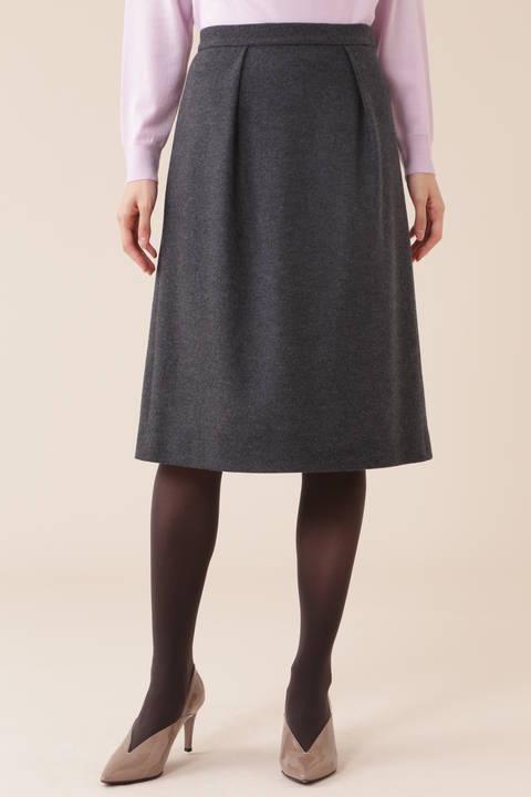 【先行予約 10月上旬 入荷予定】シルキースムーススカート