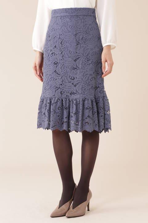【先行予約 10月上旬 入荷予定】コードラッセルレーススカート