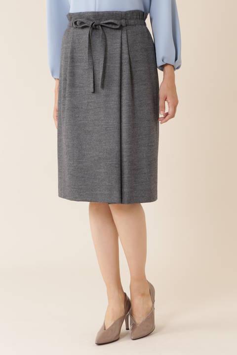 ウールジャージセットアップスカート
