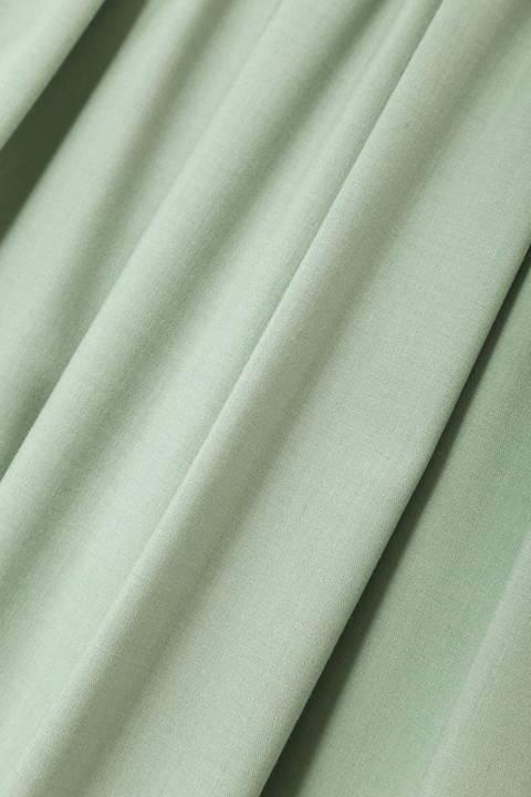 タックギャザーふんわりカラースカート