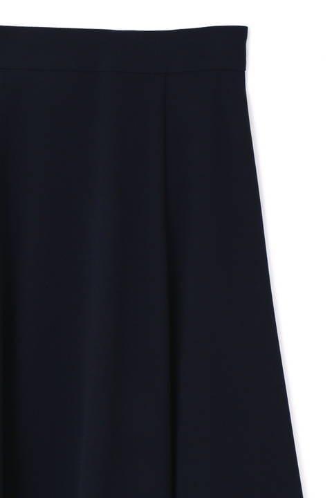 【竹内由恵さん着用】[ウォッシャブル]バックサテンジョーゼットスカート