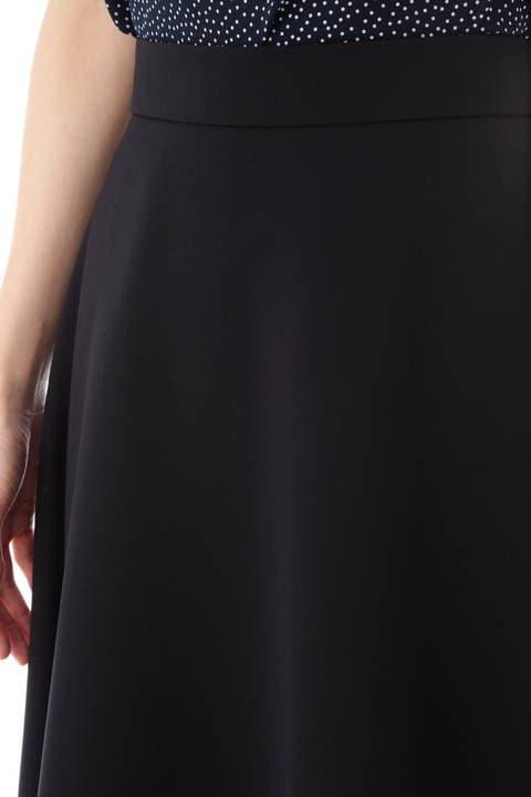 [ウォッシャブル]コンパクト2WAYツイルスカート