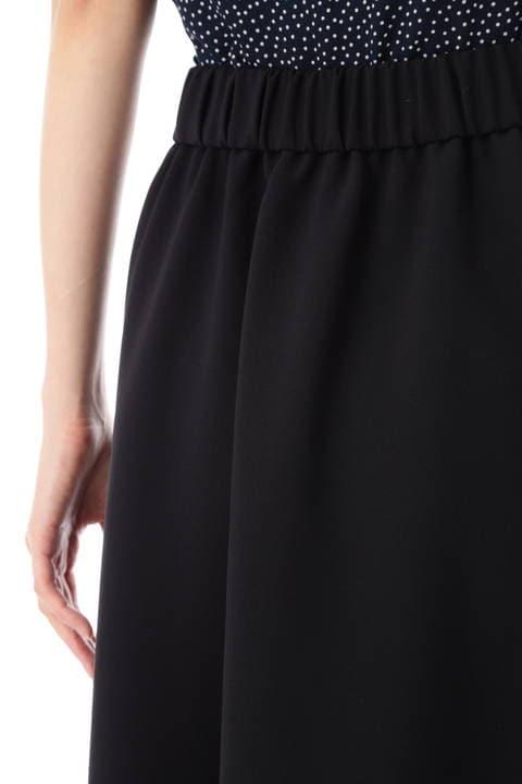 【STORY 9月号掲載】[ウォッシャブル]コンパクト2WAYツイルスカート