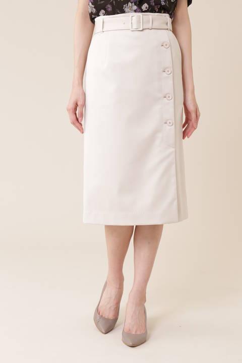 【先行予約 7月上旬 入荷予定】サテンストレッチスカート