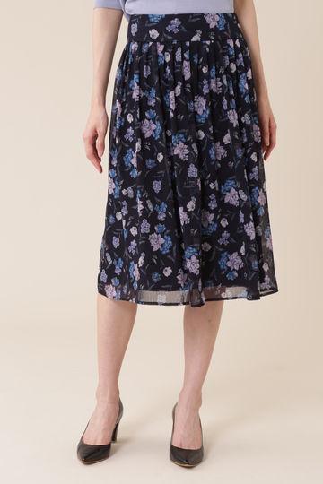 【先行予約 7月上旬 入荷予定】ボタニカルプリントスカート