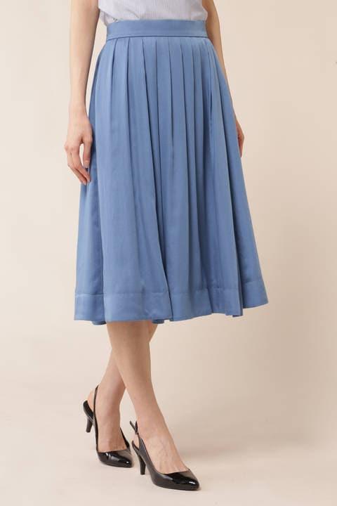 【皆川玲奈さん着用】テロントサテンスカート