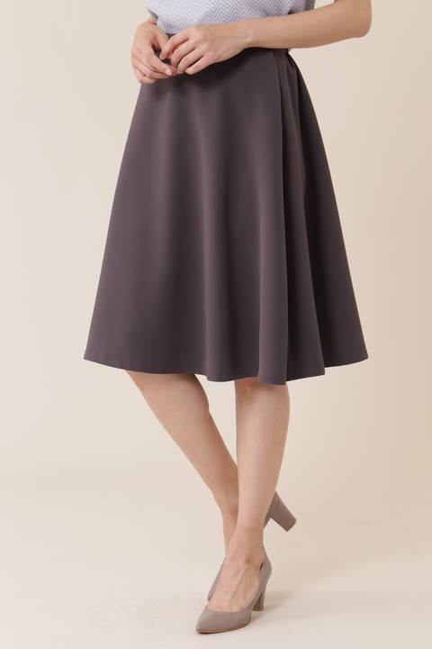 【CLASSY 10月号掲載】[ウォッシャブル]オーセンティックダブルクロススカート