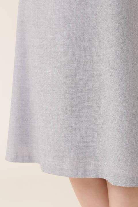 [ウォッシャブル]ピンヘッドスカート