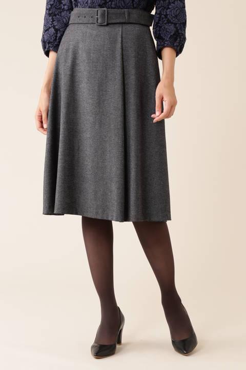 【先行予約 9月上旬 入荷予定】ELANツィードスカート