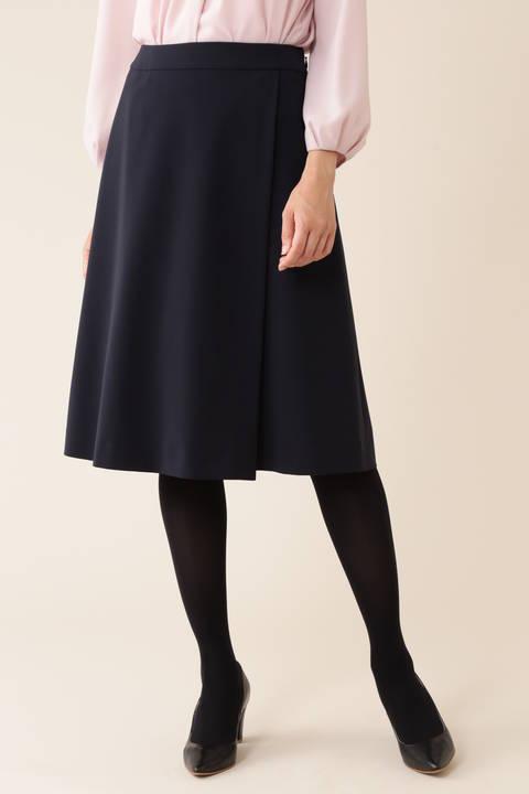 【宇賀なつみさん着用】ハイカウント2WAYスカート