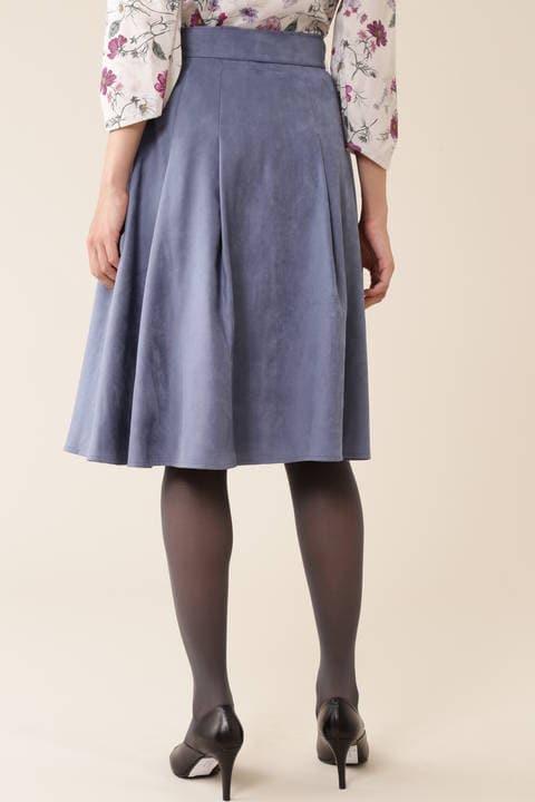 【新井恵理那さん着用】エルモザスエードスカート