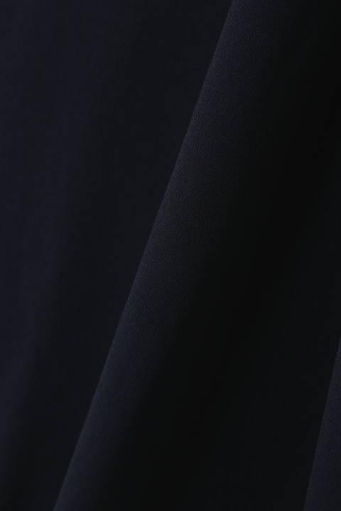 [ウォッシャブル] ウエストねじりベルトワンピース