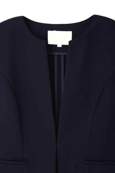 強撚スラブツイルジャケット