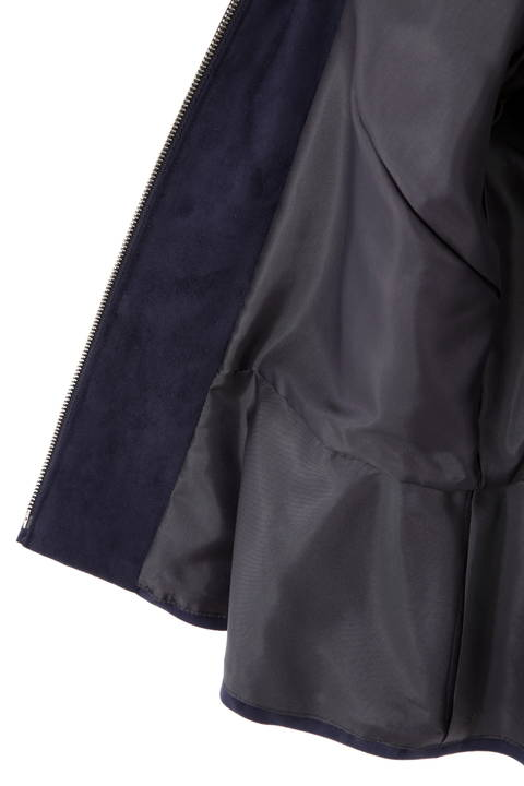 エルモザスエードジャケット