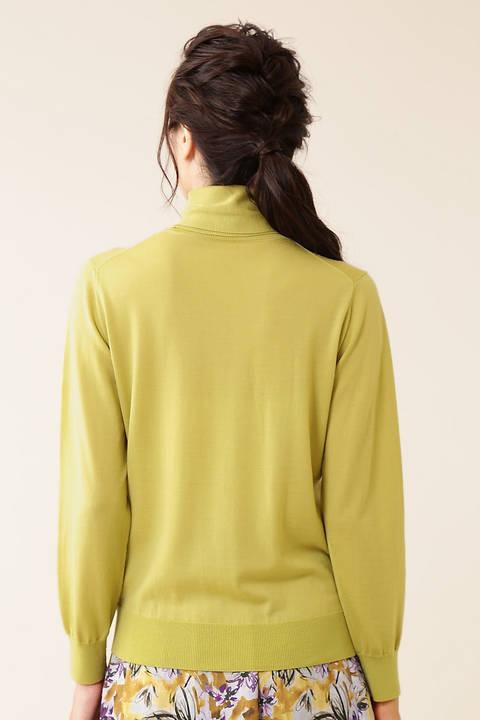 【久冨慶子さん着用】ハイゲージウールニット