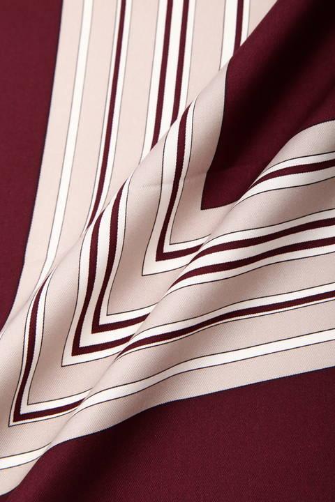 幾何モチーフスカーフ