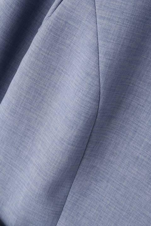 ワルツツイル広巾ノーカラージャケット