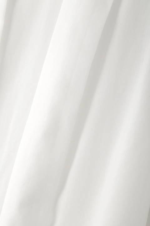 【アナウンサー 久富慶子さん着用】[ウォッシャブル]麻混ブラウスカーディガン