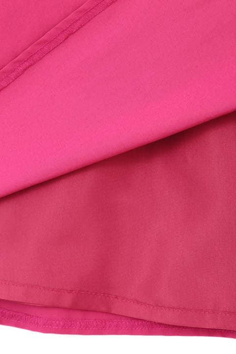 【雑誌 Oggi 掲載】タフタサイドギャザースカート