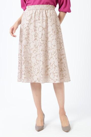 【先行予約 3月中旬-3月下旬入荷予定】シアーフラワーシャーリングスカート