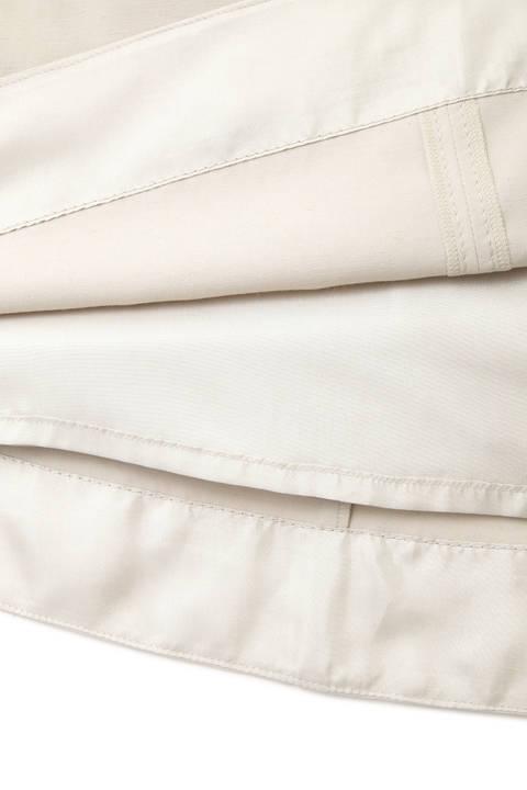 【雑誌 Oggi 5月号掲載】麻混サイドボタンスカート