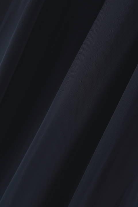 リバーシブルチュールスカート