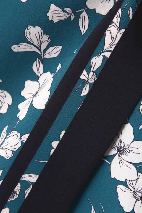 [ウォッシャブル]スカーフエッジフラワースカート